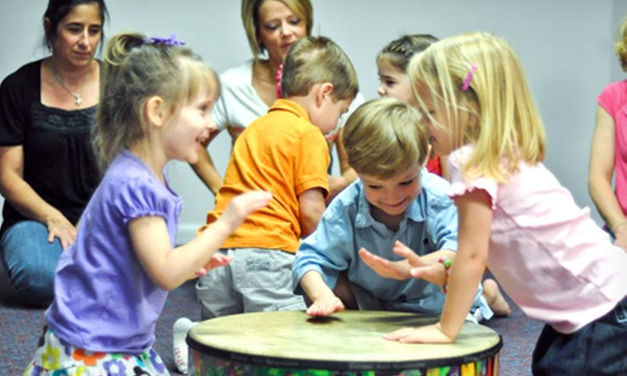 Aries Music - Multiple Locations: $6 for a Children's Music Play Date at Aries Music ($15 Value)