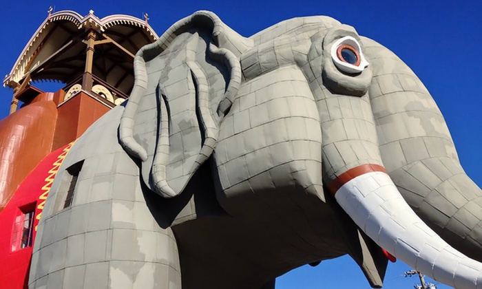 Lucy the Margate Elephant - Margate City: Tour for Two Adults and Optionally Two Children of Lucy the Elephant (38% Off)