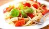 Italienische Gerichte à la carte