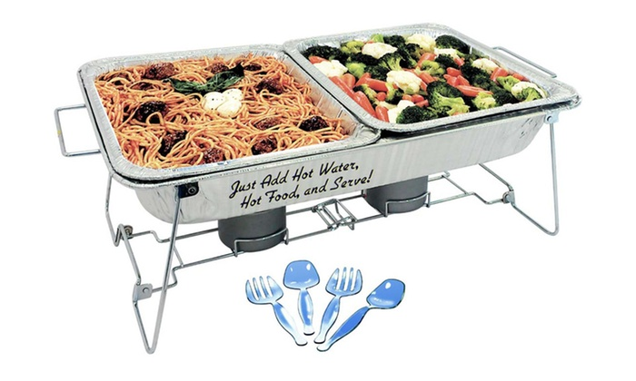 Party Pack 10-Piece Buffet Set: Party Pack 10-Piece Buffet Set with Collapsible Rack. Free Shipping and Returns.