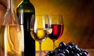 Sunset Winery: Winery Tour Package for Two or Four with Snack and Individual Customized Wine Labels  (Up to 58% Off)
