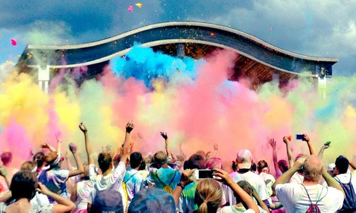 Color Dash - Balloon Fiesta Park: 5K Entry for One, Two, or Four to Color Dash on Saturday, July 12 (Up to 45% Off)