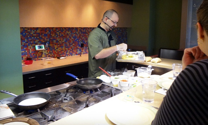 AL!VE: Your Community Well-Being Place - Charlotte: Cooking Classes for One or Two at AL!VE: Your Community Well-Being Place (Up to 67% Off). Three Options Available.