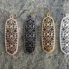 Clearance: Gold, Rose Gold, Pewter, or Silver Plated Cut Out Earrings
