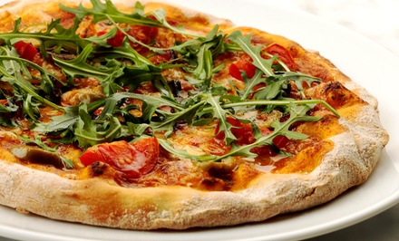 $11.50 for $20 Worth of Pizza and Mediterranean Cuisine at ZaZa Wood-Fired Pizza