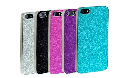 groupon daily deal - Hard-Shell Glitter Cover for iPhone 4 or 5. Multiple Styles Available.