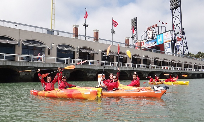 City Kayak - The Embarcadero: Kayak Trip for One, Two, or Four from City Kayak (Up to 51% Off)