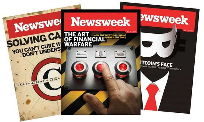 Newsweek Magazine: $96.99 for a One-Year Print Subscription to Newsweek Magazine ($149.99 Value)