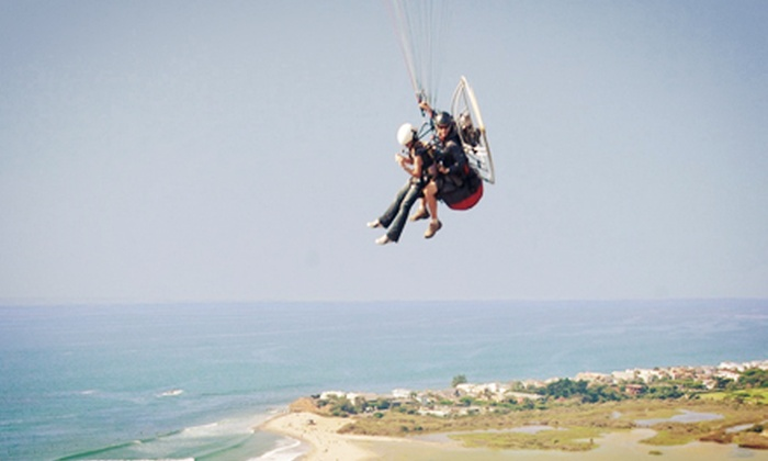 Malibu Paragliding - Eastern Malibu: $129 for Tandem Paragliding Flight with Certified Instructor and In-Flight HD Video from Malibu Paragliding ($260 Value)