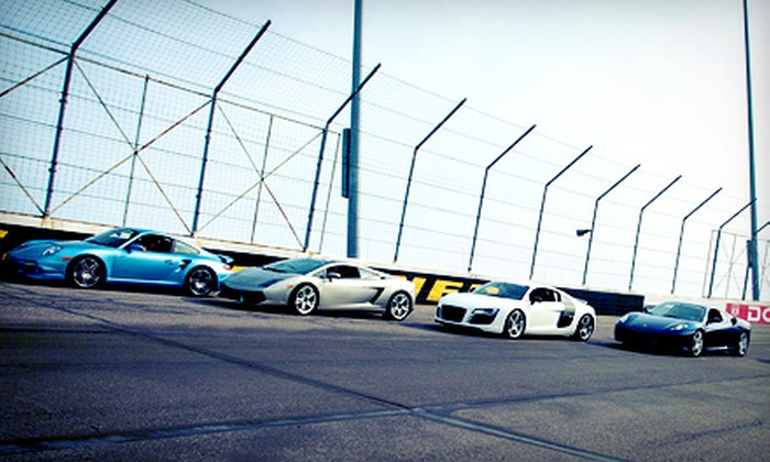 Xtreme Xperience - Blackhawk Farms Raceway: Exotic Supercar Driving Experience on a Real Racetrack for One or Two from Xtreme Xperience (Up to 68% Off)
