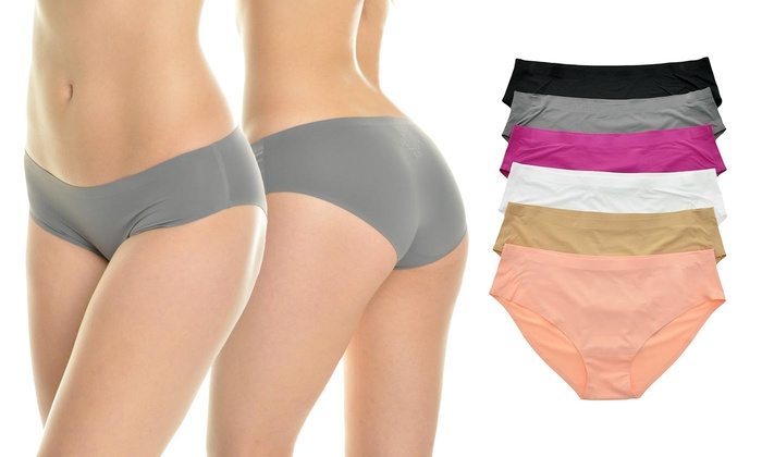 2cd25611c6f0 Angelina No-Show Invisible Line Panties (6-Pk). Plus Sizes Available