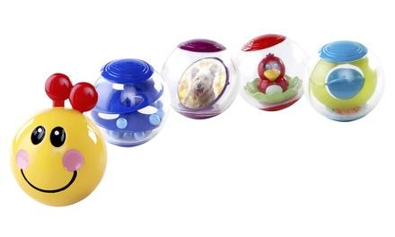 One or Two Sets of Baby Einstein Roller-Pillar Activity Balls