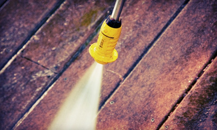 Dirt Vanishers Power Washing and Cleaning LLC - Detroit: Window or Pressure Washing from Dirt Vanishers Power Washing and Cleaning LLC (Up to 56% Off). Four Options Available.