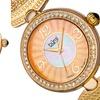 Burgi Women's Crystal Mesh Bracelet Watch