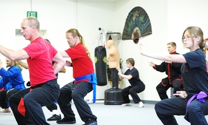 Black Lotus Kung Fu Studio: Four or Eight Kung Fu Classes or One or Two Months of Classes at Black Lotus Kung Fu Studio (Up to 61% Off)