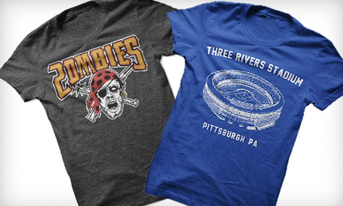 Steel City Cotton Works: $20 for $40 Worth of Pittsburgh-Inspired T-shirts from Steel City Cotton Works