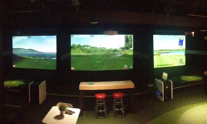 XGolf Scottsdale - North Scottsdale: Virtual Golf with Beers for Two to Four at XGolf Scottsdale (41% Off)