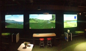 X Golf Scottsdale: Virtual Golf with Beers for Two or Four at XGolf Scottsdale (41% Off)