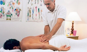Healing Spine and Disc Sports Chiropractic Clinic: Chiropractic Exam with Massage and Adjustments at Healing Spine and Disc Sports Chiropractic Clinic (Up to 84% Off)