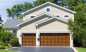 Distribudoors: $99 for a Garage Door Reconditioning and Roller Replacement from DistribuDoors ($235 Value)
