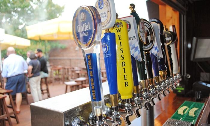 Biergarten Haus - Capitol Hill: $27 for $50 Worth of German Food and Beer at Biergarten Haus