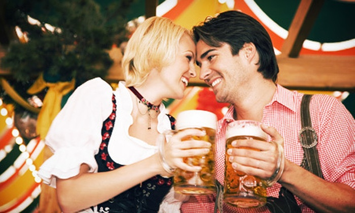 Oktoberfest Brickell - Brickell: $20 for One-Day Visit for Two with One $20 Food-and-Drink Voucher at Oktoberfest Brickell ($40 Value)