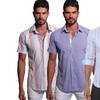 Jared Lang Men's Fitted Button-Down Shirts