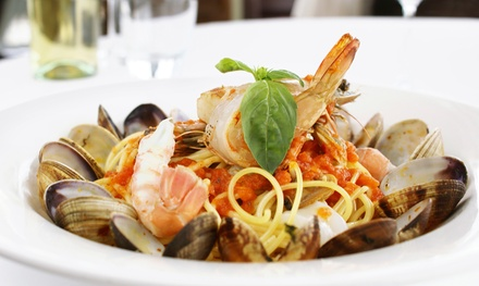 Upscale Dinner or Lunch Italian Cuisine at Scola's Restaurant (Up to 47% Off). Five Options Available.