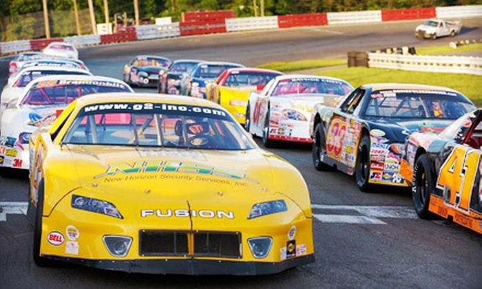 SBRA Drag-Racing and NASCAR Whelen All-American Series - Cedar Crest Estates: Stock-Car or Drag-Racing Package for Two or Four at Old Dominion Speedway in Manassas (Up to 52% Off)