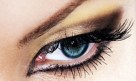 30 or 50 Single Strand Eyelash Extensions Per Eye at CA Lashes (Up to 78% Off)