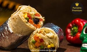 Que Quieres?: Almoço com burrito grande, nachos e dip guaca para 1 ou 2 pessoas no Que Quieres? – Ipanema