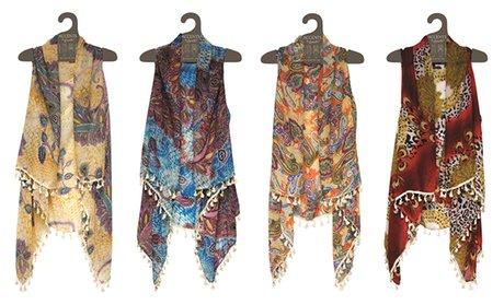 Tassels Collection Designer Vest