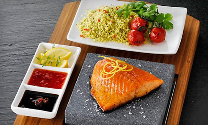 Europa Black Rock Bar and Grill - Ludlow: Mediterranean Dinner Cuisine at Europa Black Rock Bar and Grill in Ludlow (Up to 56% Off). Two Options Available.