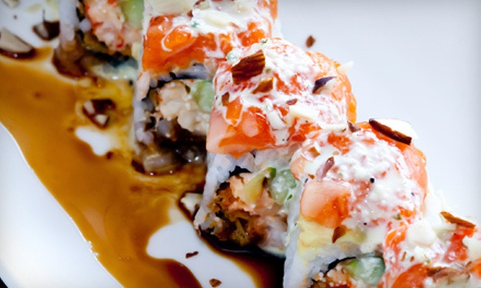 Bara Sushi and Grill - Briargate: $10 for $20 Worth of Japanese Fare and Drinks for Dinner at Bara Sushi and Grill