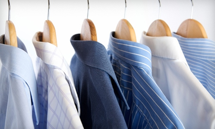 GreenStreets Cleaners - Belmont: $15 for $30 or $50 for $100 Worth of Dry Cleaning at GreenStreets Cleaners