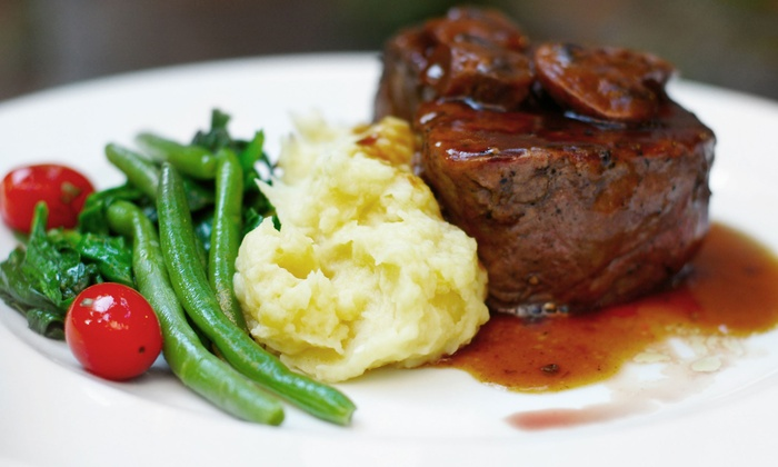 The Hunt Room - Malvern: Steak and Seafood for Two or Four at The Hunt Room (Up to 50% Off)