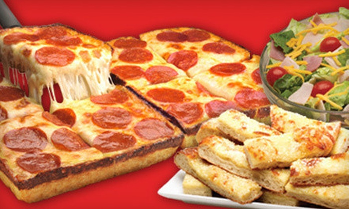 Jet's Pizza - Wyoming: $10 for $20 Worth of Dine-In Pizza, Subs, Salads, and Breadsticks at Jet's Pizza