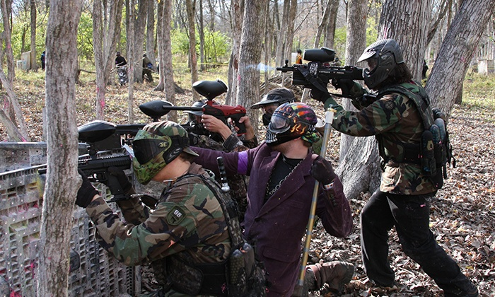 Fox Paintball - Fox: Paintball Outing with Admission, Equipment, and Paintballs for Two or Four (Up to 58% Off)