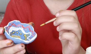 Color Me Mine: $12 for Five Paint-Your-Own Ceramics Sessions at Color Me Mine (Up to $45 Value)