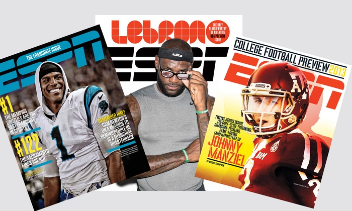 """ESPN The Magazine - Victoria: $14.99 for a One-Year """"ESPN The Magazine"""" Subscription with Hat and Shipping ($29.95 Value)"""