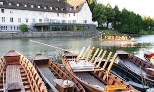 Mikes Stocherkahnfahrten: 90 Min. Stocherkahnfahrt Deluxe auf dem Neckar für 2 oder 4 Personen bei Mikes Stocherkahnfahrten (bis zu 77 % sparen*)