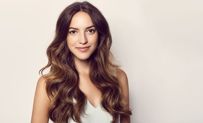 image for Haircut, Highlights, and Style from Beautiology (45% Off)