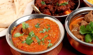 Lunch Buffet For Two Or Four With Drinks At Diwani Indian Restaurant (44% Off)