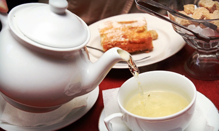 Simpson House Tea Room - West End: $25 for Queen Anne Royal Tea Service for Two at Simpson House Tea Room ($50 Value)
