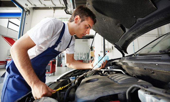 A+ Auto Services - Crescent Heights: One or Two Oil Changes and 30-Point Inspections at A+ Auto Services (Up to 80% Off)