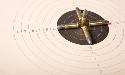 $59 for Shooting-Range Package for Two with Firearm Rental and Safety Instruction ($138 Value)