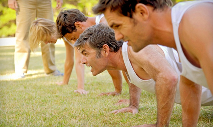 Gold Medal Fitness - Garwood: 10 or 20 60-Minute Boot-Camp Classes at Gold Medal Fitness (Up to 77% Off)