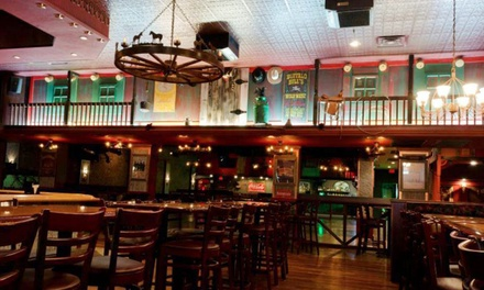 American Dinner for Two, Four, or Six with Appetizers, Entrees, and Desserts at Cowboys Saloon (Up to 61% Off)