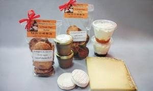Fromagerie Du Chat D'Oc: Un panier de fromage à 23,99 € à déguster chez la Fromagerie du Chat D'Oc