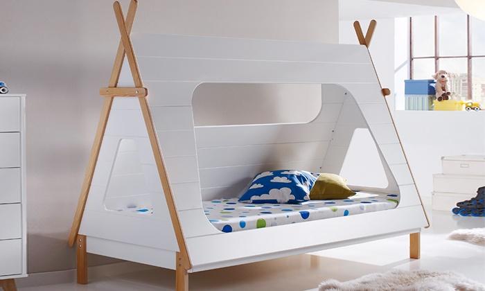 Letto tenda per bambini groupon goods - Letto per bambini con scivolo ...